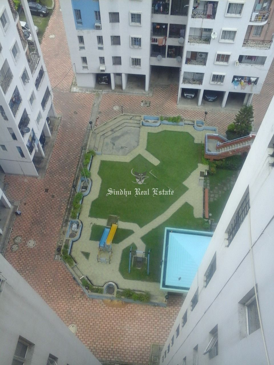 3 BHK Residential Flat For Rent in New Town, Near DLF