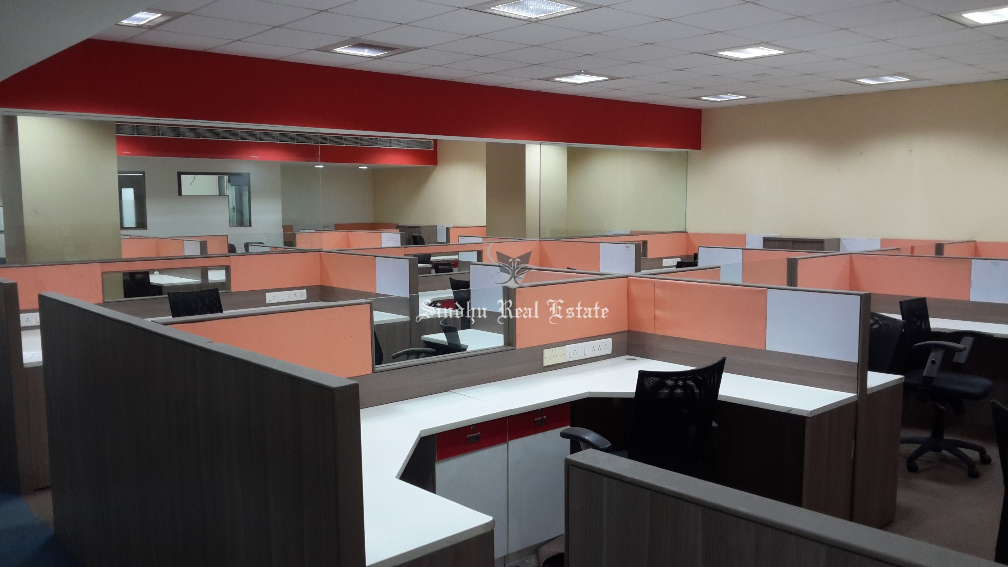 Get furnished office space with all the modern facilities