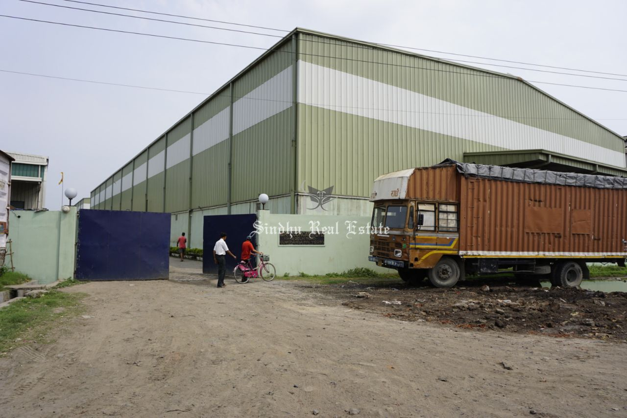 Attractive warehouse at the best location of Durgapur Expressway