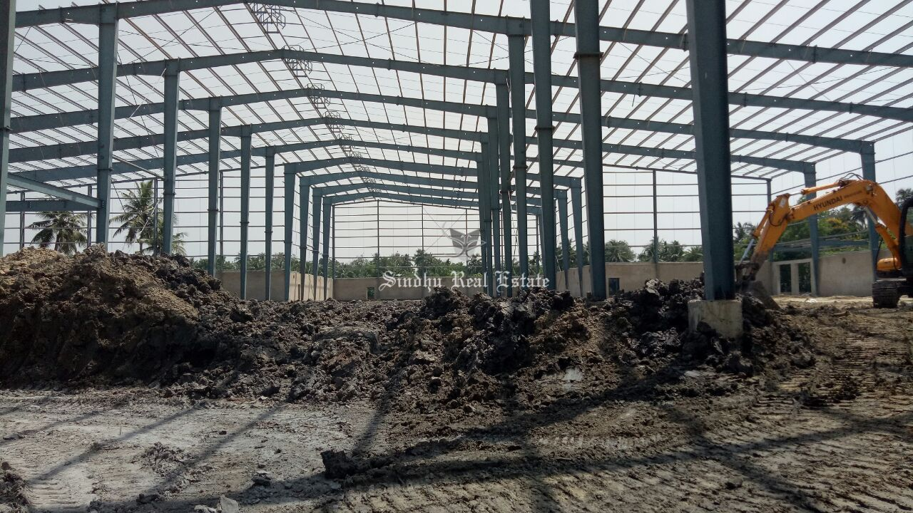 Attractive warehouse at the prime location of NH 34