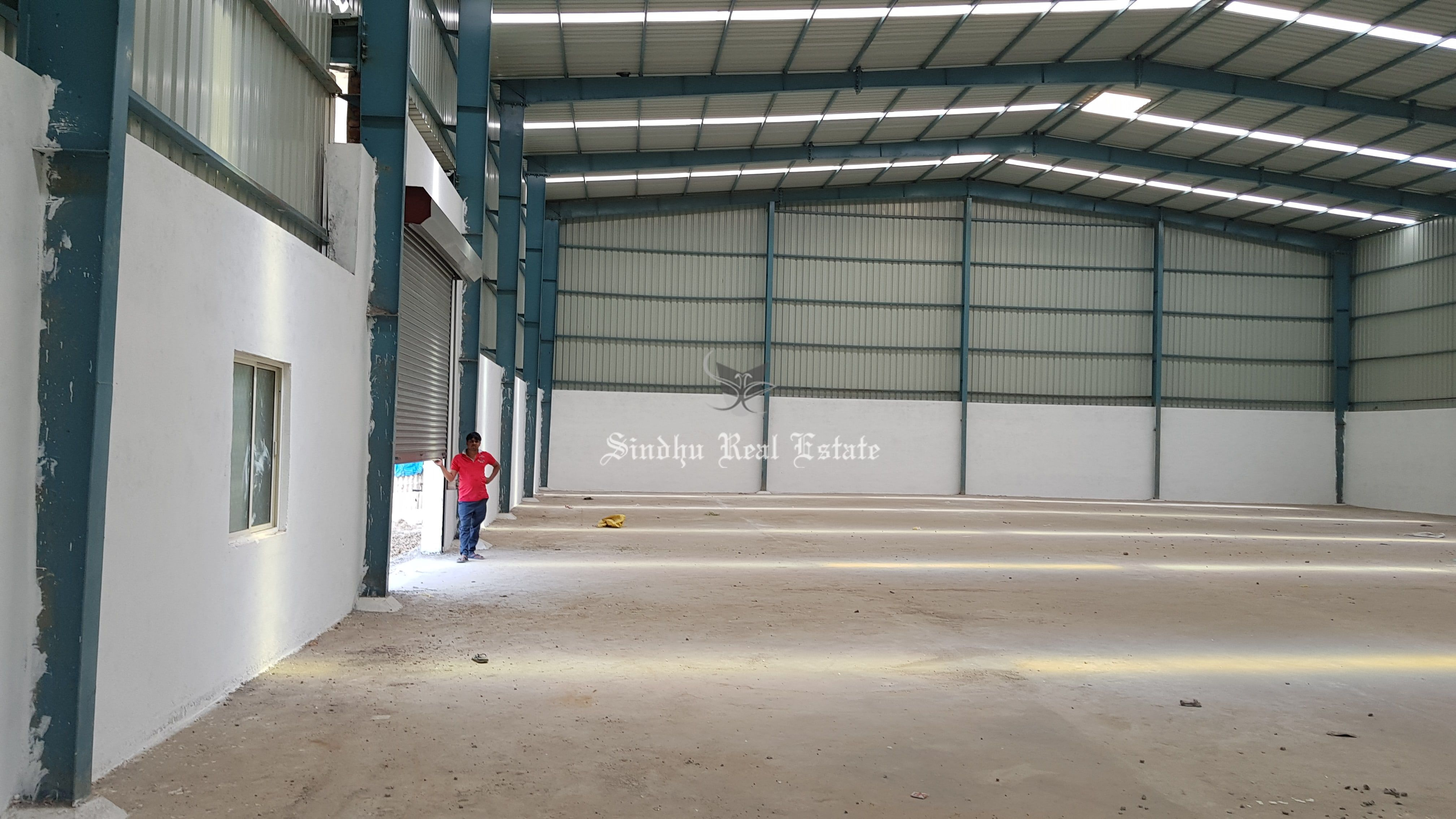 To Get a Warehouse at NH-34