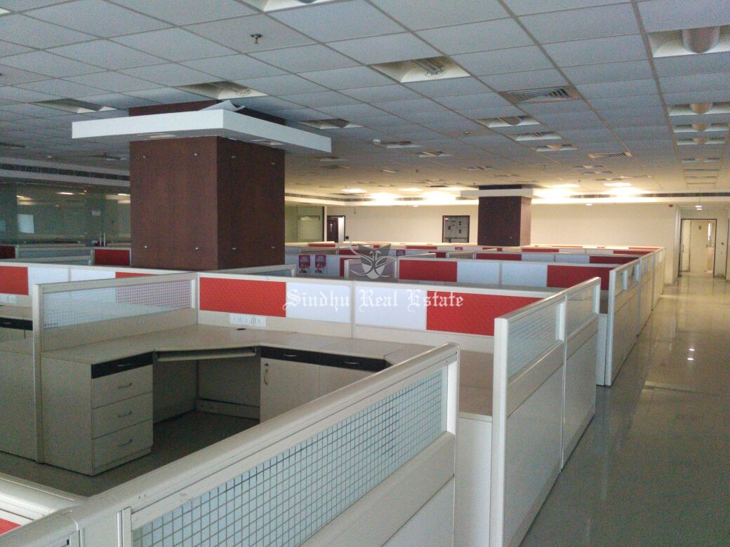 5000 sq ft commercial office space for rent at Salt Lake sector -5.