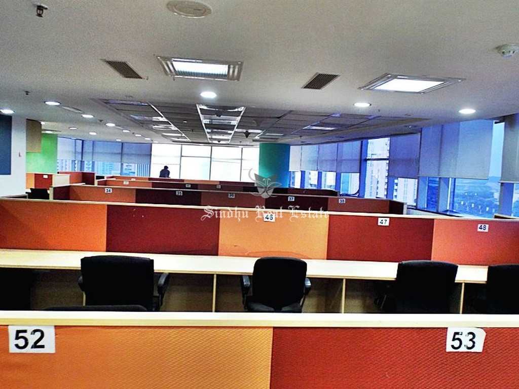 3000 sq ft commercial office space for rent at Salt Lake sector -5