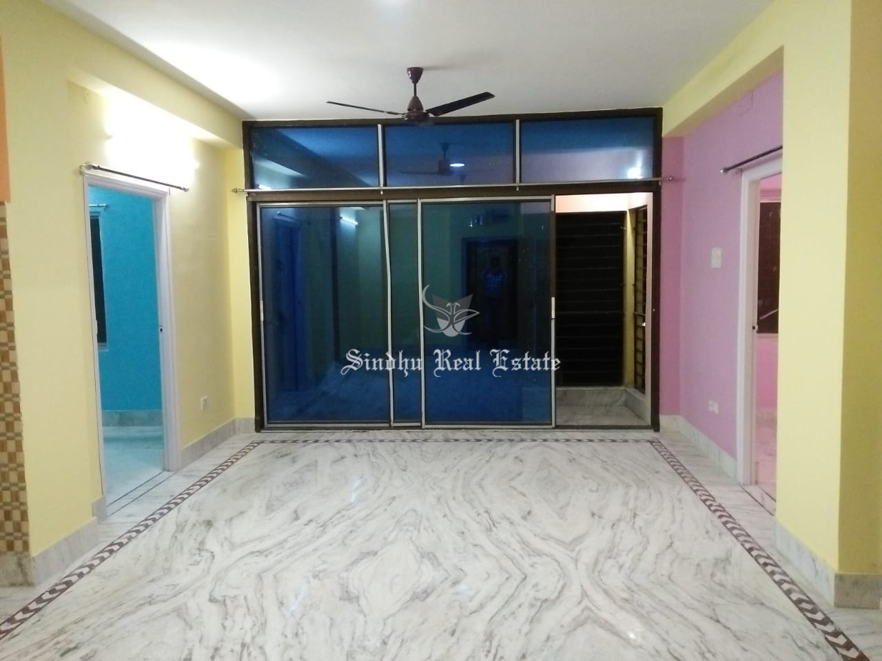 rent 2 BHK  flat in New-town action area 1