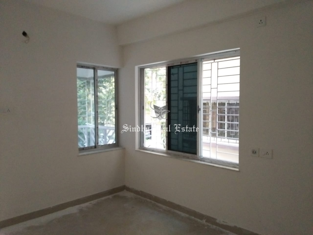Buy 3 BHK  unfurnished flat in New-town area