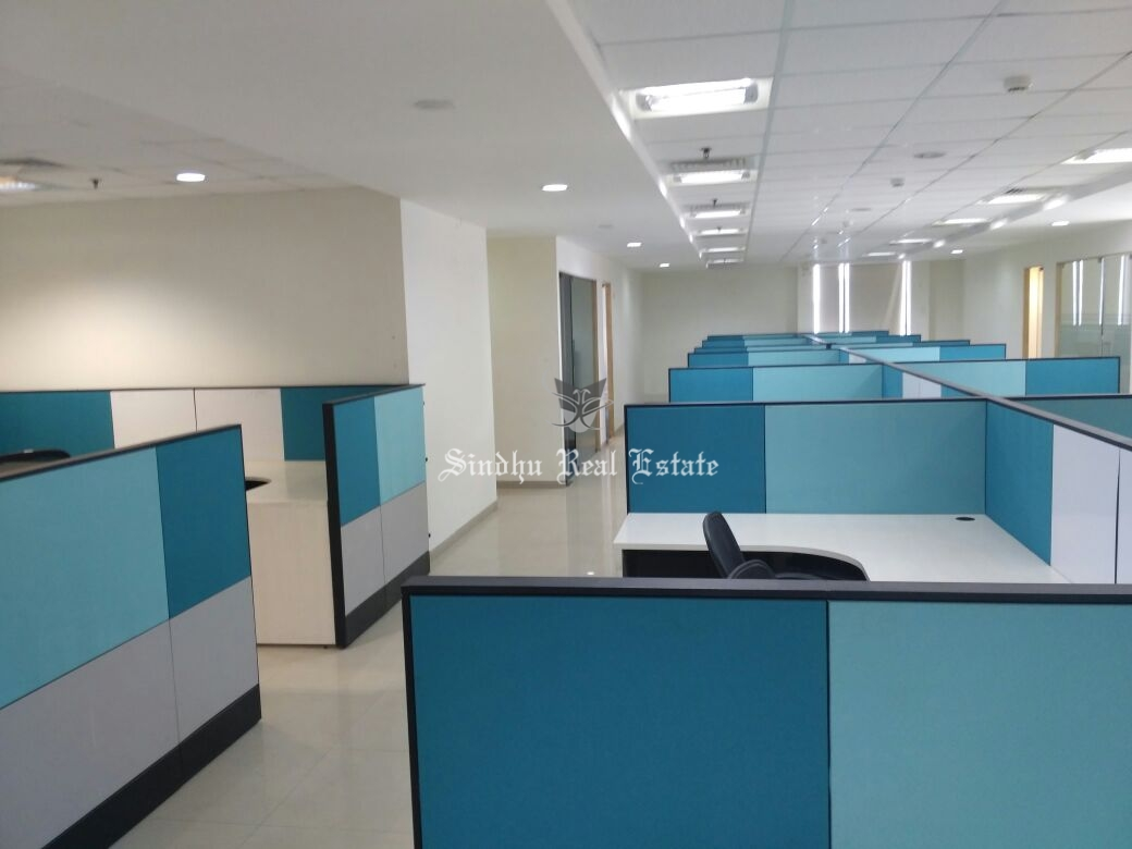 5000 sq ft commercial office space for rent at Salt Lake sector -5