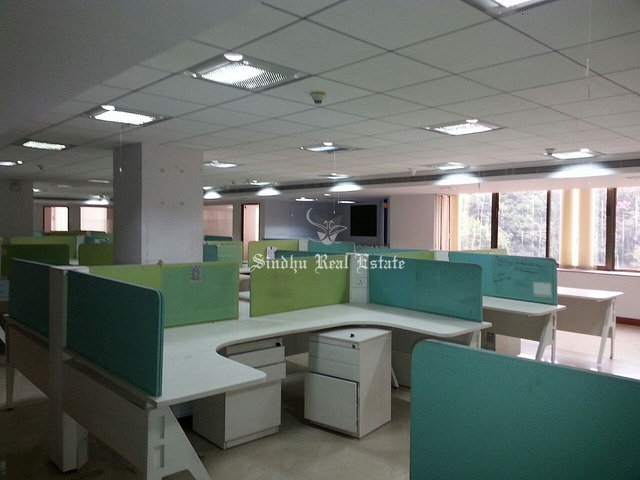 1000 sq ft commercial office space for rent at Salt Lake sector -5.