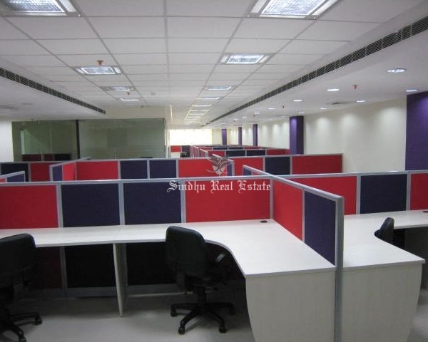 4000 sq ft commercial office space for rent at Salt Lake sector -5.
