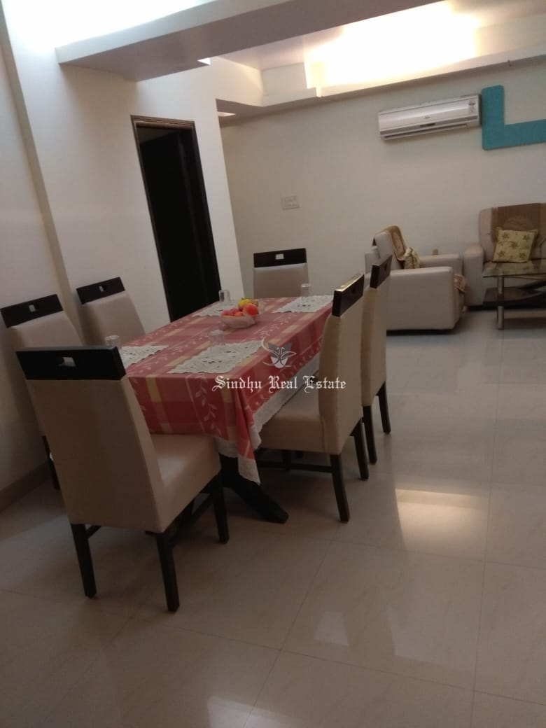 3 BHK furnished property for rent in salt lake area
