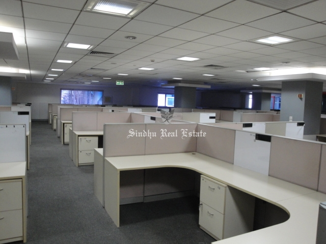 2500 sq ft commercial office space for rent at Salt Lake sector -5