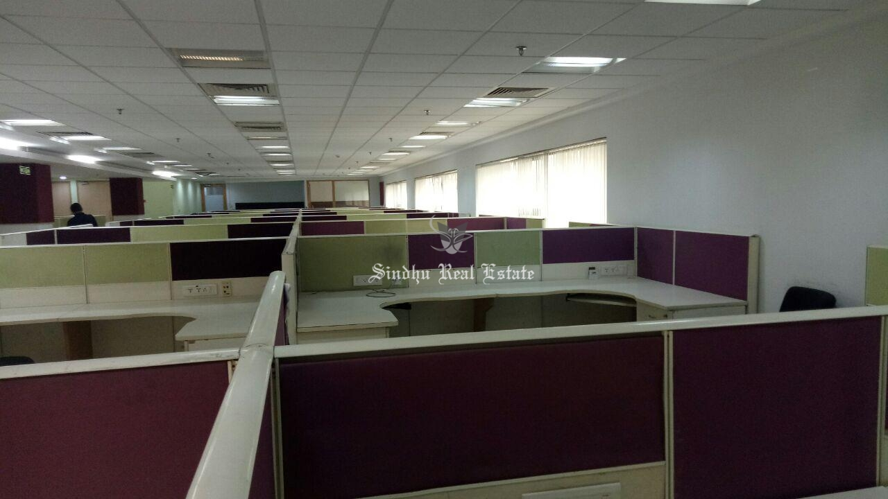 Commercial office space is available in Sector v