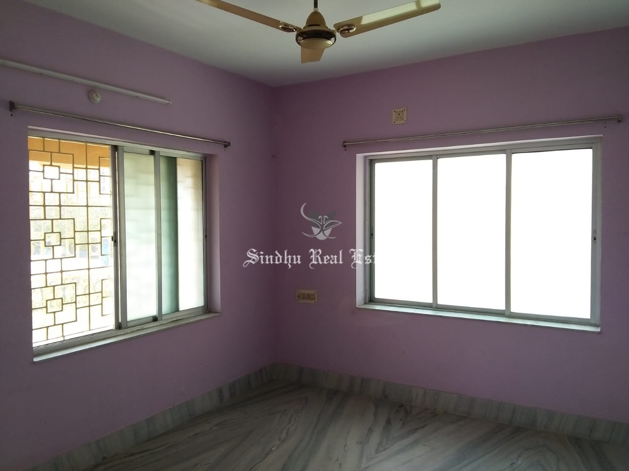 2 BHK semi furnished flat for rent in Action area 1