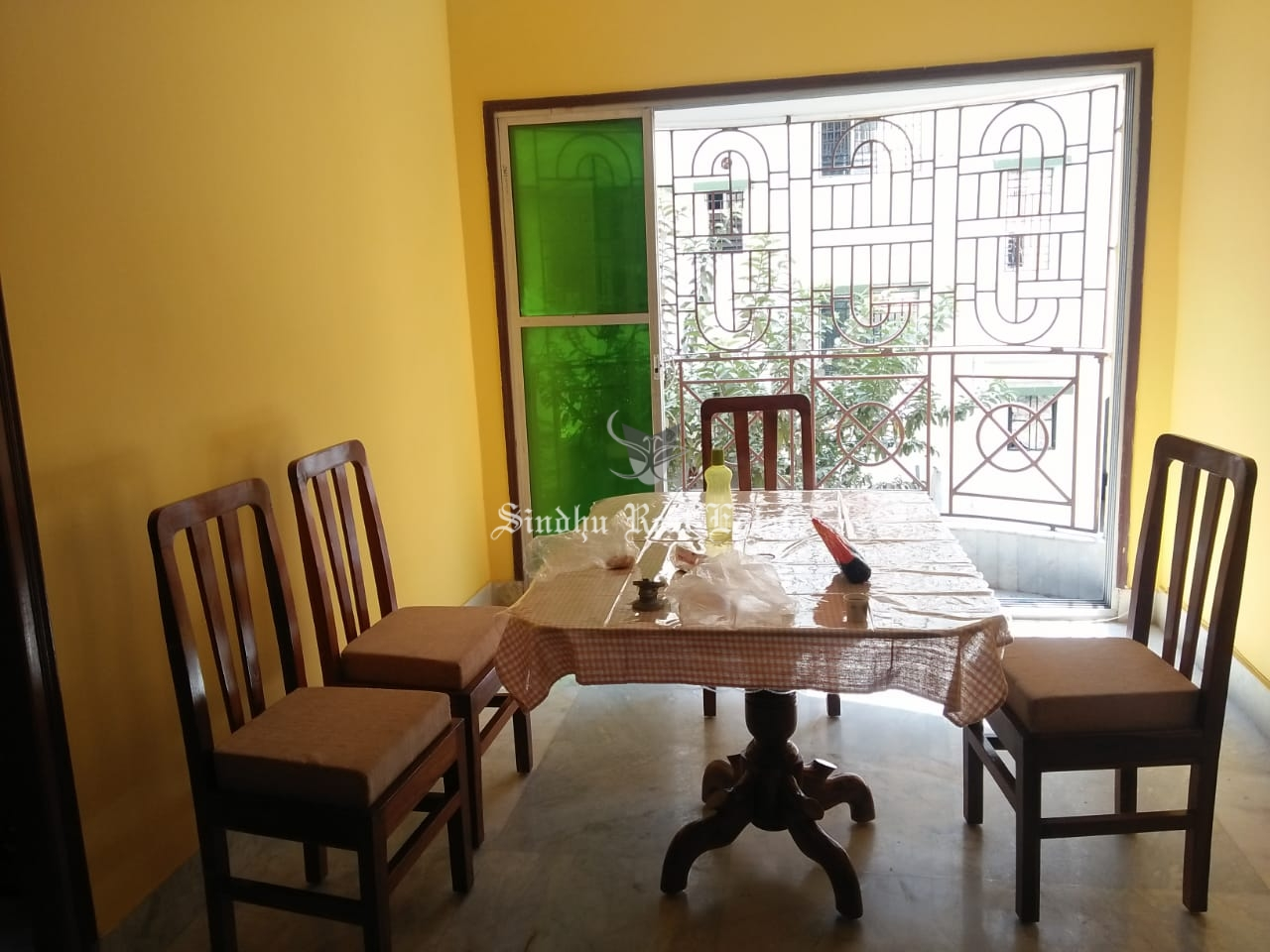 Rent 3 BHK flat at New town area