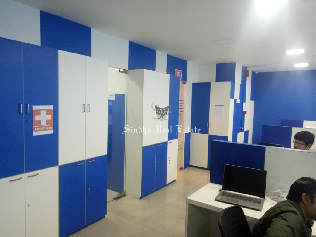 Commercial office space available for rent in Sector V