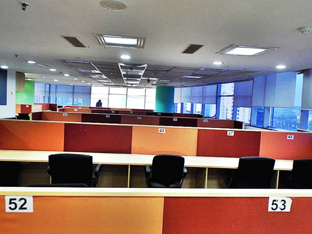 Office space at salt lake at an affordable price